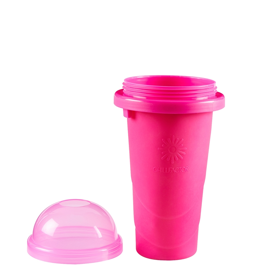 Chill Factor Squeeze Cup Slushy Maker Pink image-2