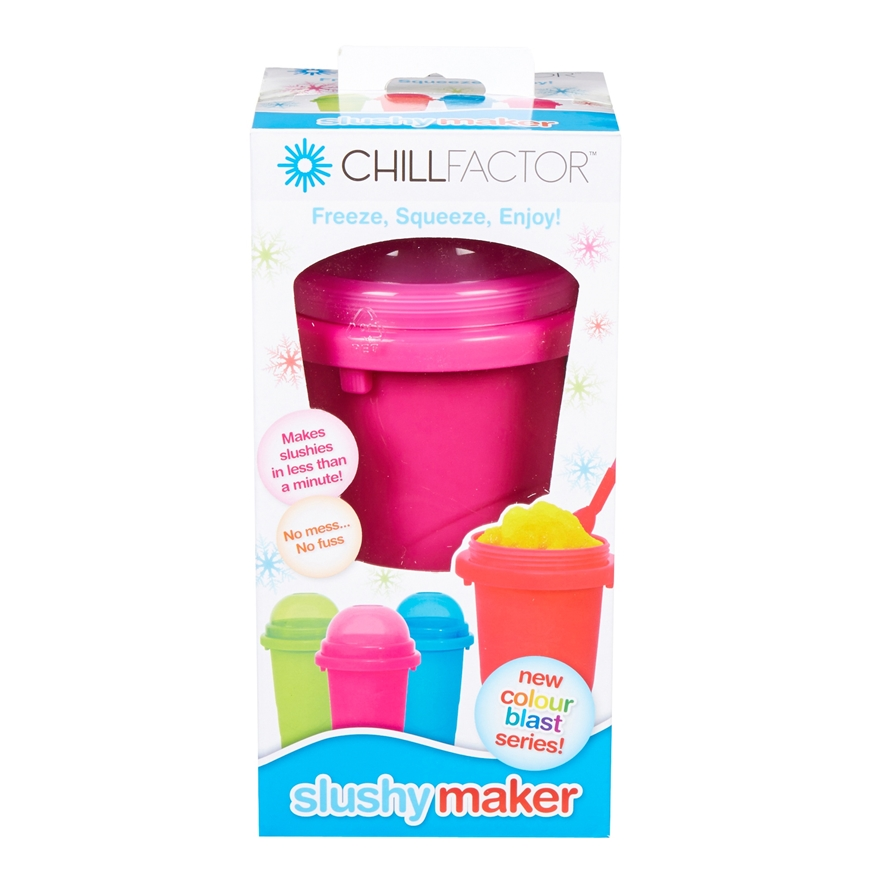 Chill Factor Squeeze Cup Slushy Maker Pink image-5
