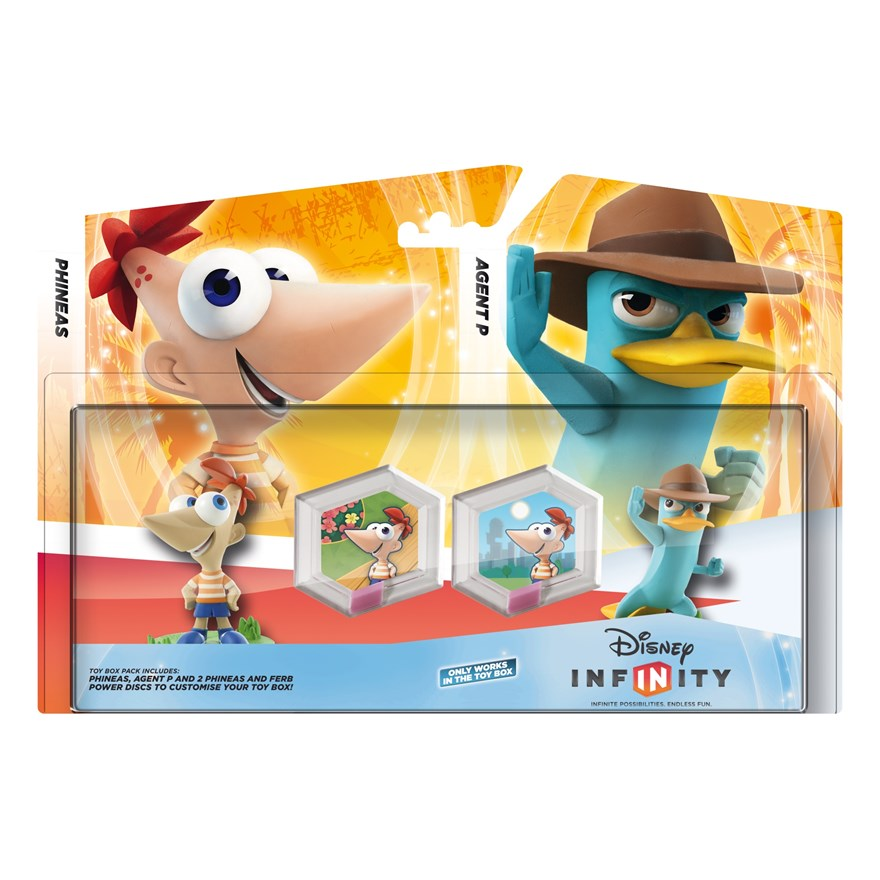 Infinity Playset Pack: Phineas and Ferb