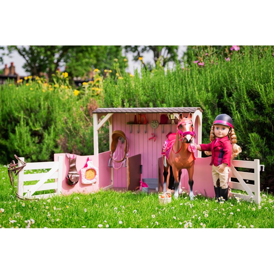 Our Generation Horse Stable image-0