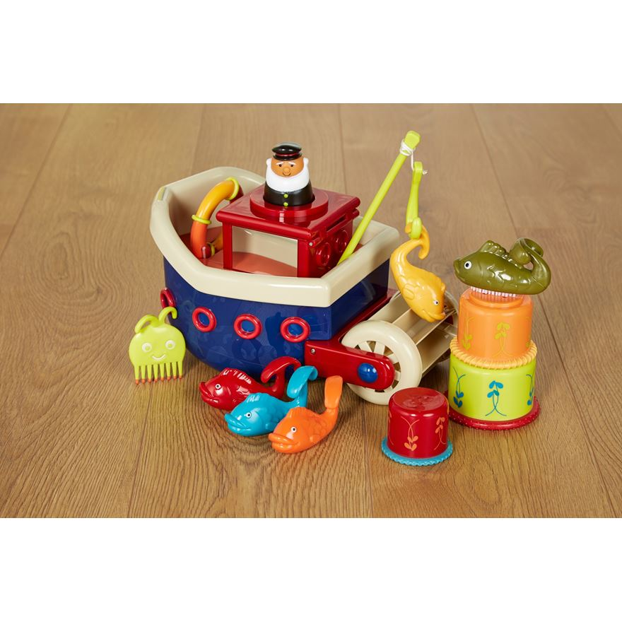 B. Fish n Splish Boat Bath Toy image-0