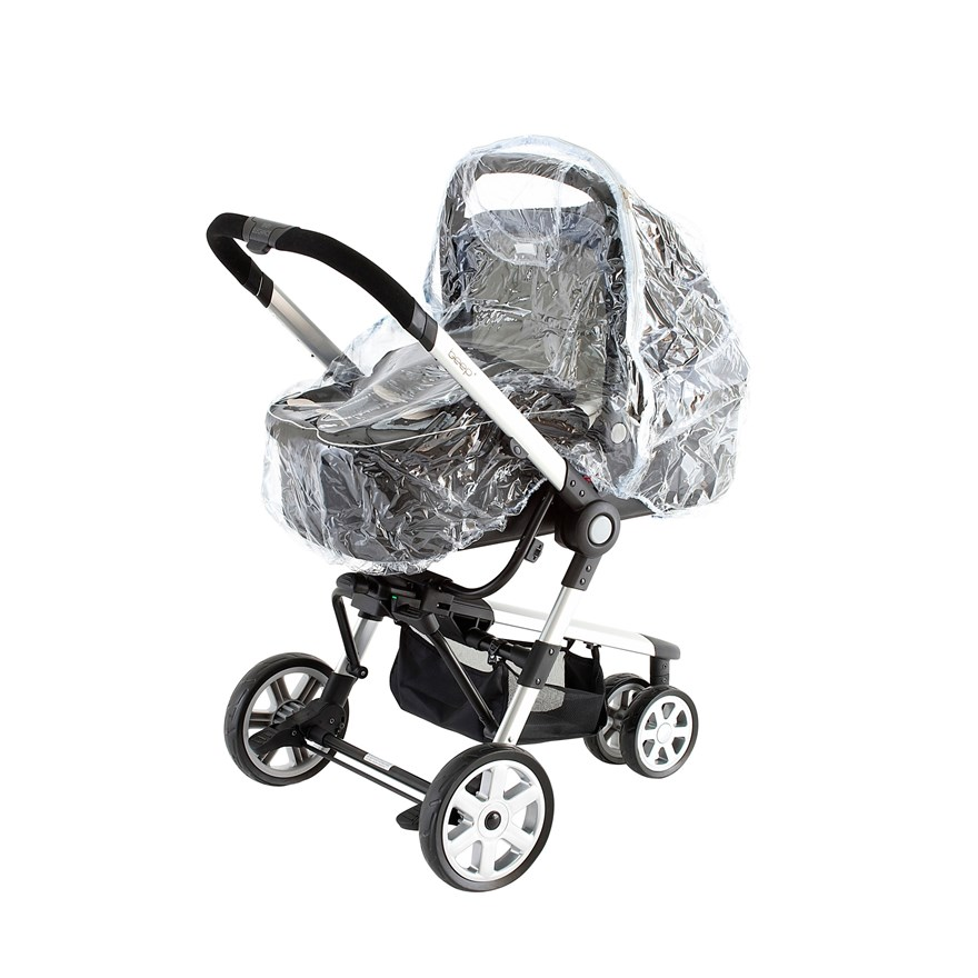 Baby Elegance Carry Cot Raincover image-0