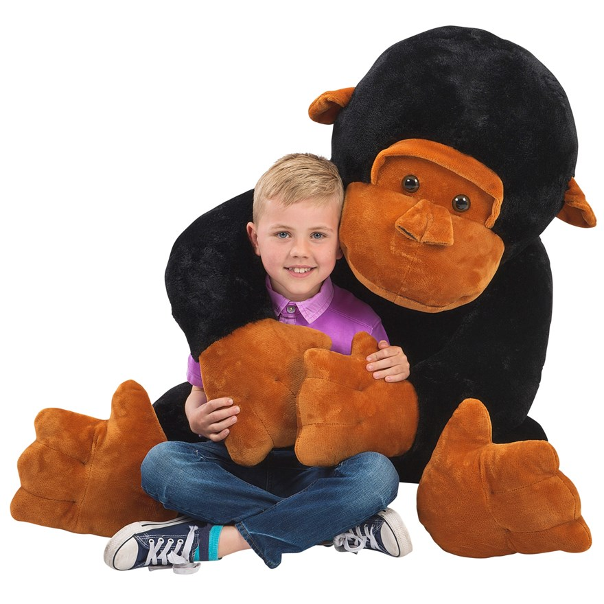 120cm George the Gorilla image-0