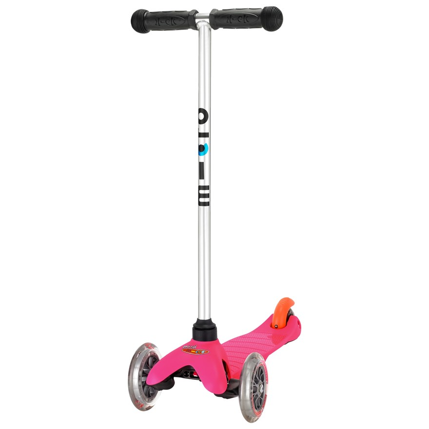 Mini Micro T-Bar Scooter Pink image-0