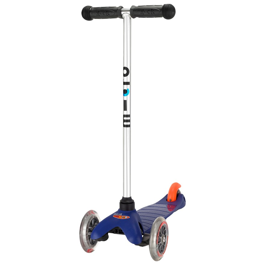 Mini Micro T-Bar Scooter Blue image-0