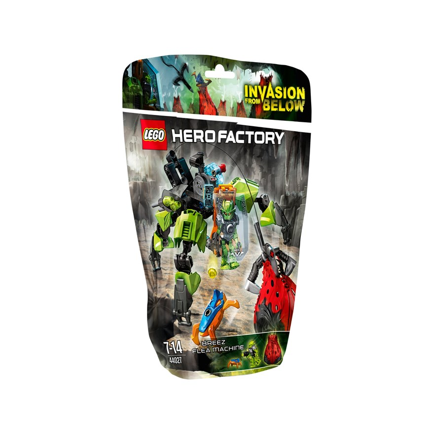 LEGO Hero Factory BREEZ Flea Machine 44027 image-0
