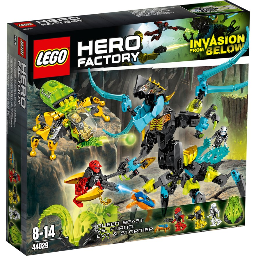 LEGO Hero Factory Queen Beast vs Furno Evo & Stormer 44029 image-0