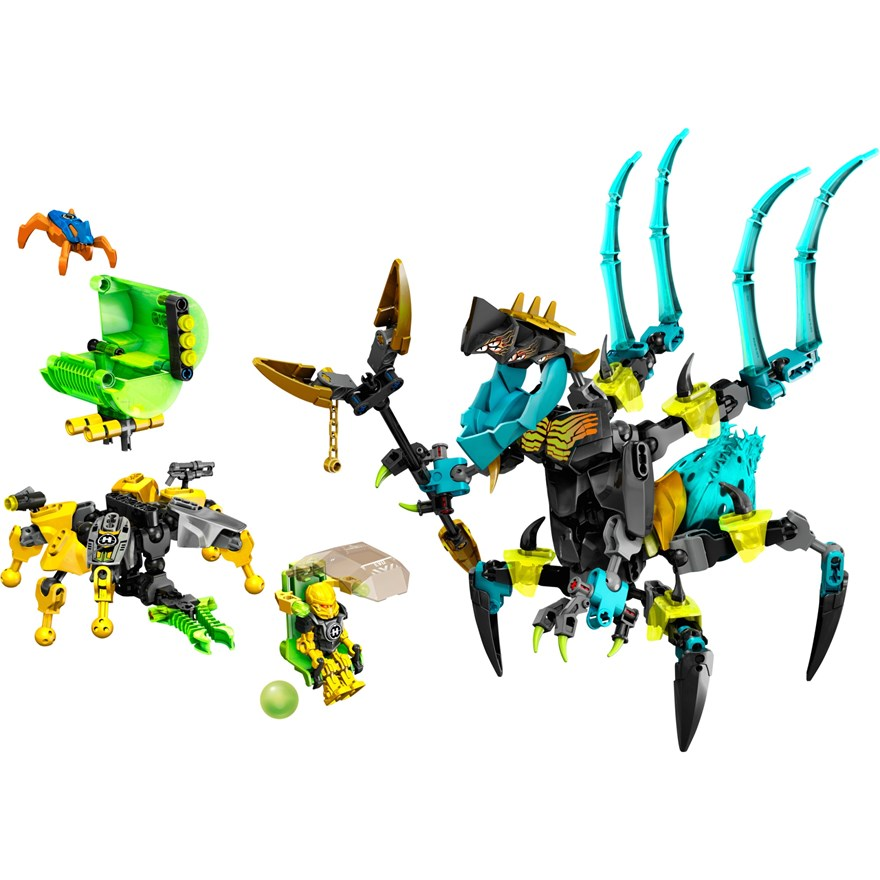 LEGO Hero Factory Queen Beast vs Furno Evo & Stormer 44029 image-5