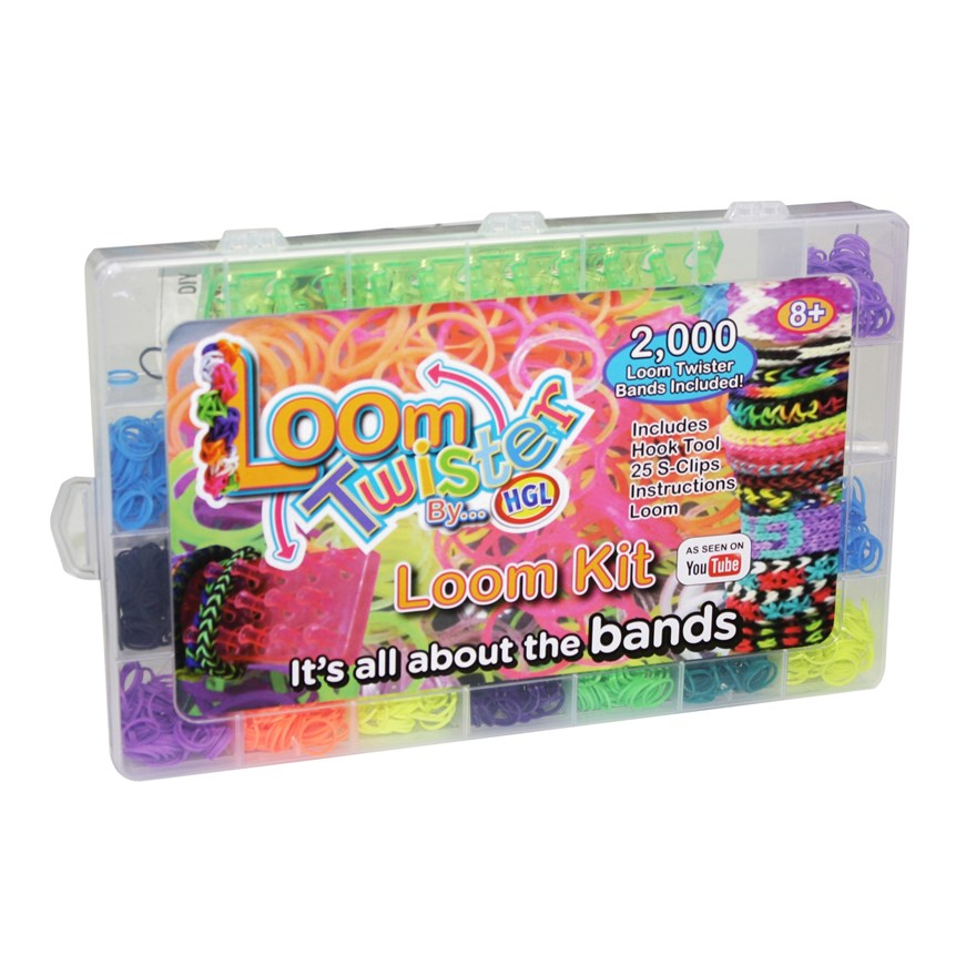 Loom Bands Twisters Clear Case image-0