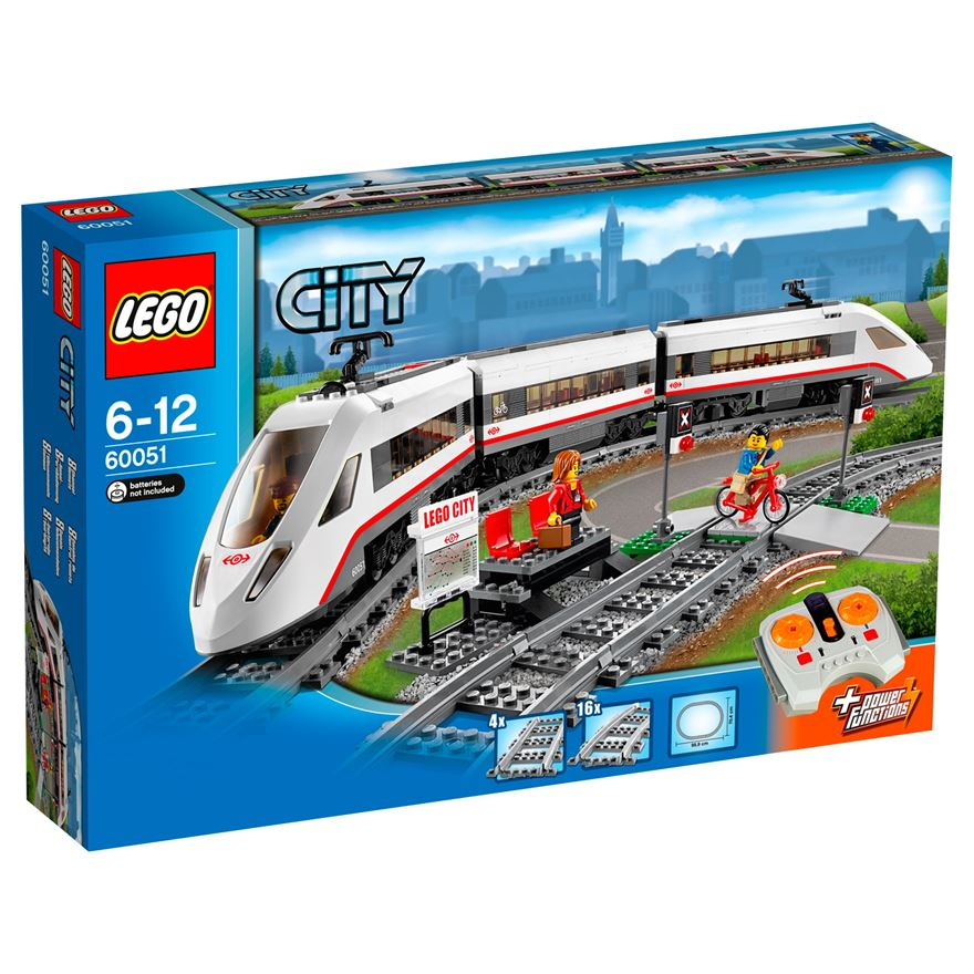 LEGO City High-speed Passenger Train 60051 image-0