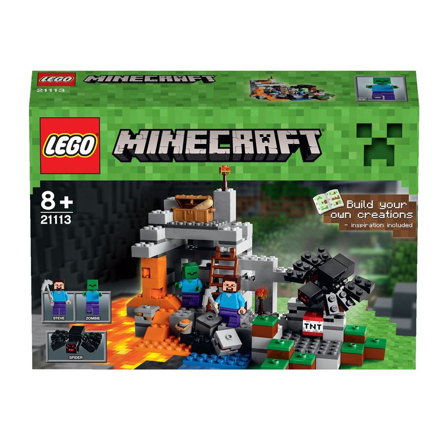 LEGO Minecraft The Cave 21113 image-0