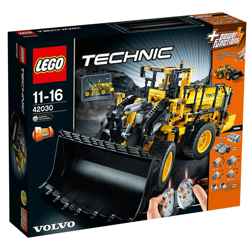 LEGO Technic Remote-Controlled VOLVO L350F Wheel Load 42030 image-0