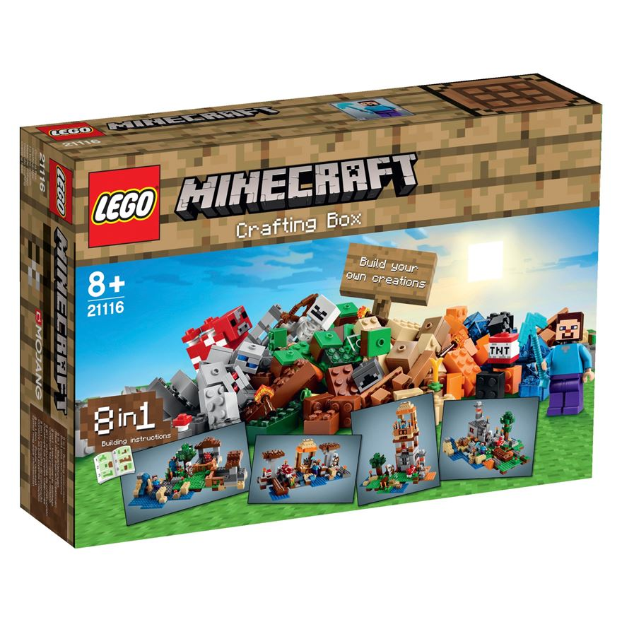 LEGO Minecraft Crafting Box 21116 image-0