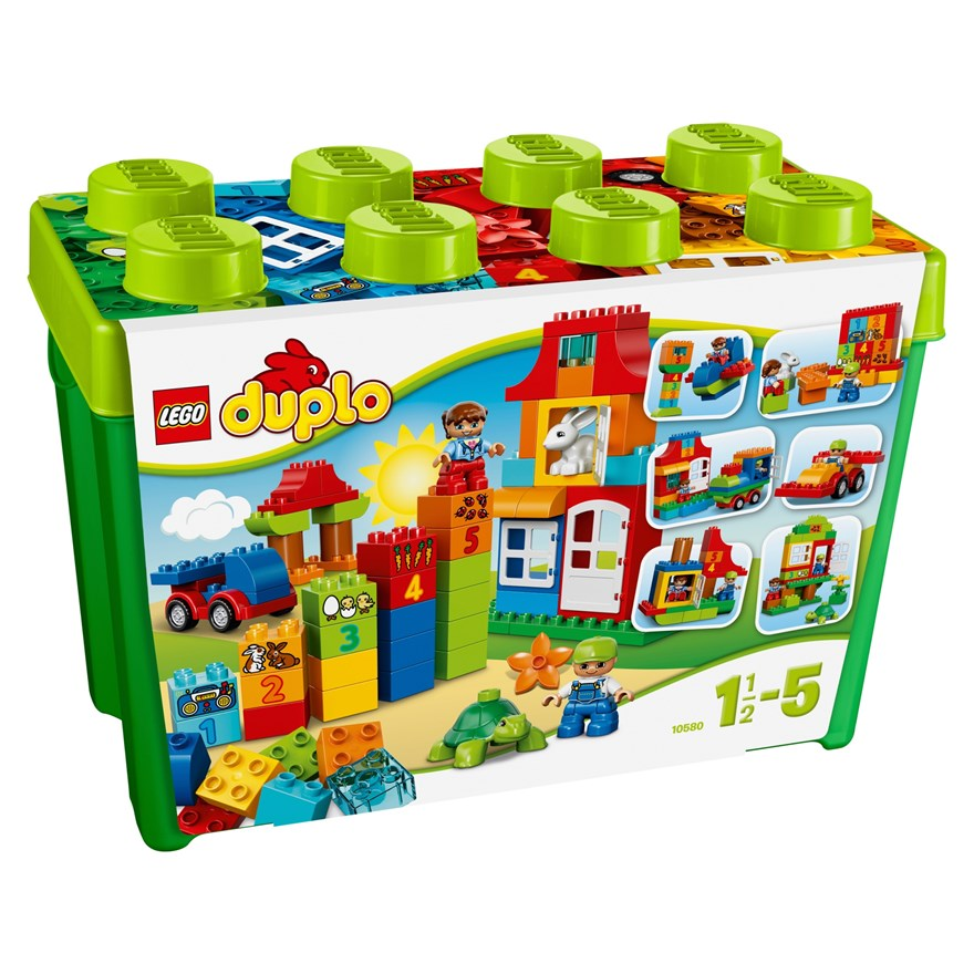 LEGO DUPLO Deluxe Box of fun 10580 image-0