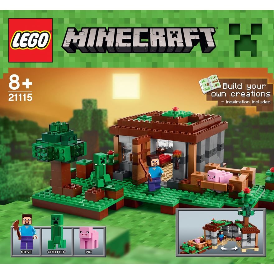 LEGO Minecraft The First Night 21115 image-0