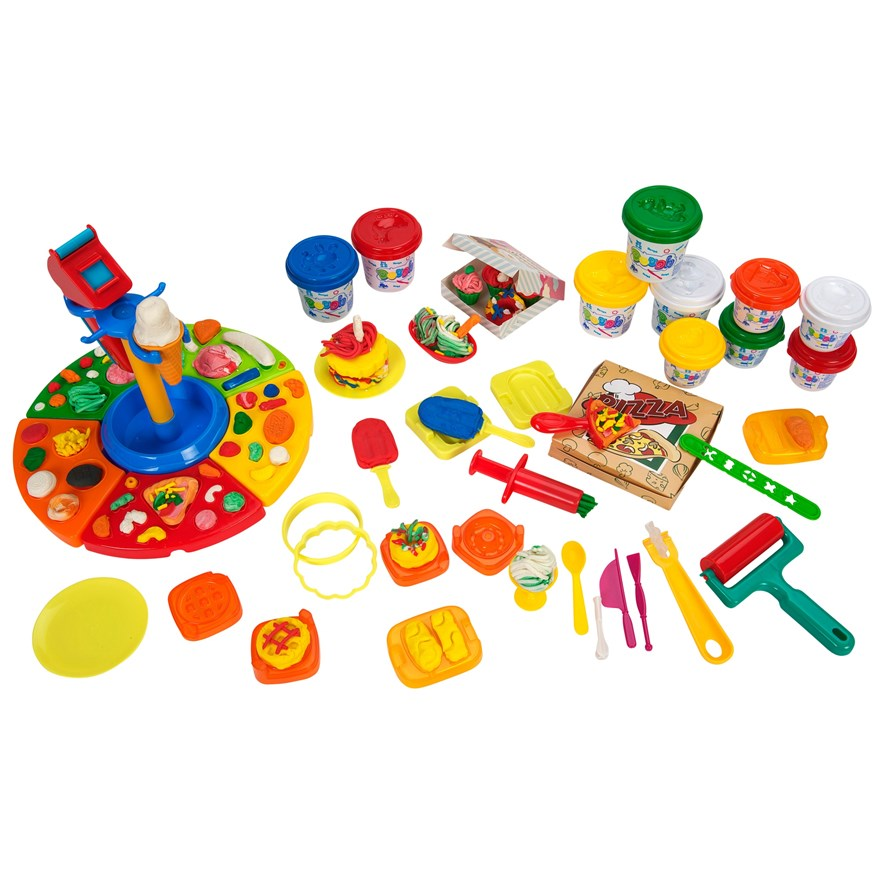 Deluxe Play Dough Food Set image-0