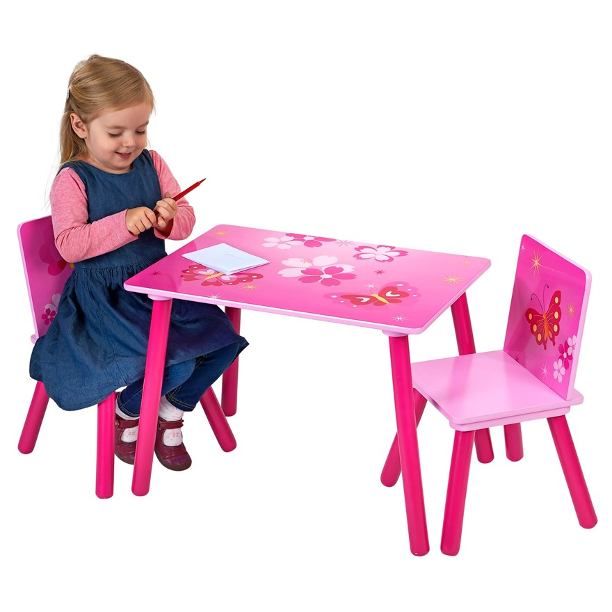 Butterfly Table and Chair Set image-0