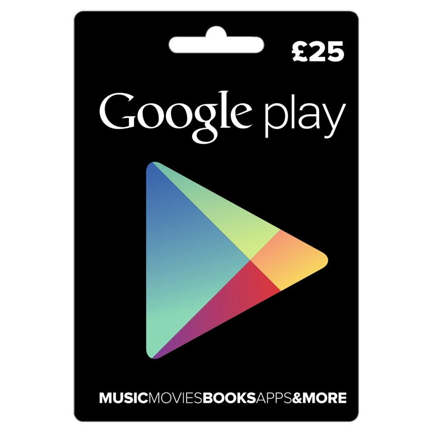 £25 Google Play Card