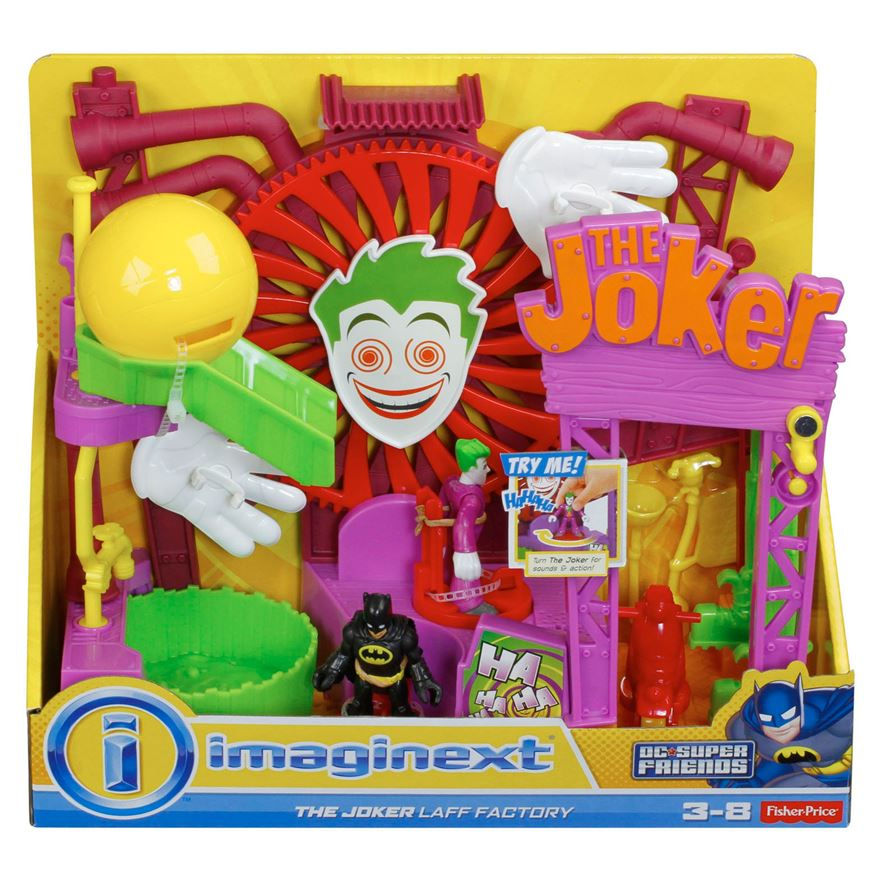 Fisher-Price Imaginext Joker Laff Factory image-0