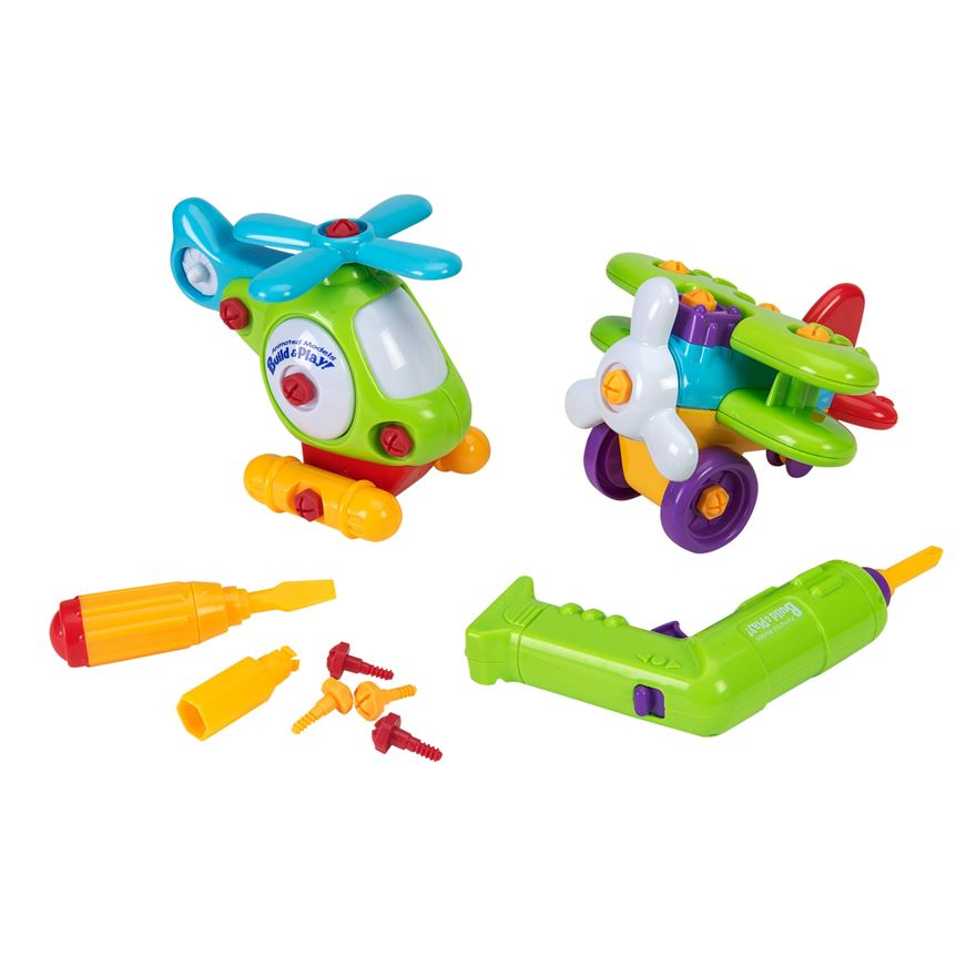 Build and Play Vehicles 2 Pack image-0