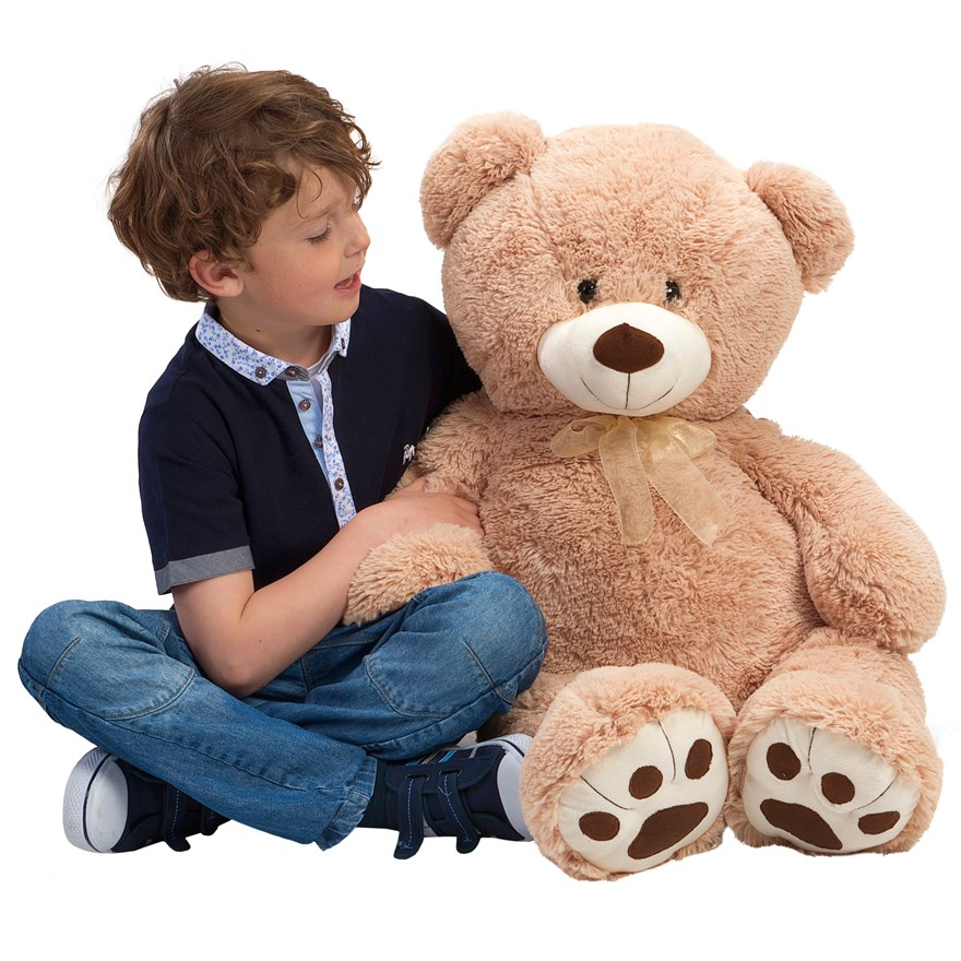 100cm Giant Brown Teddy Bear image-0