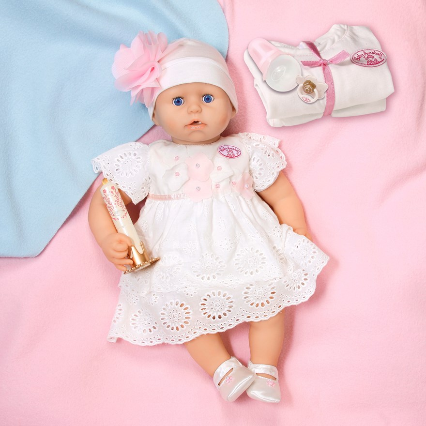 Baby annabell christening doll newest style baby annabell uk