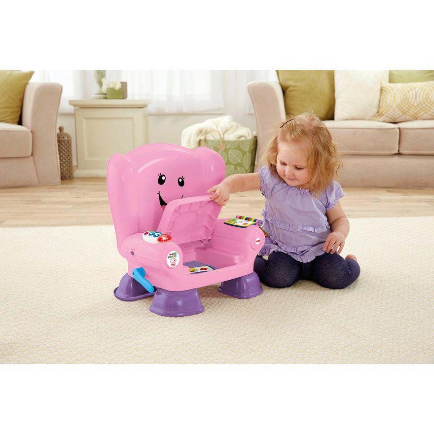 Fisher-Price Laugh & Learn Smart Stage Chair Pink image-0