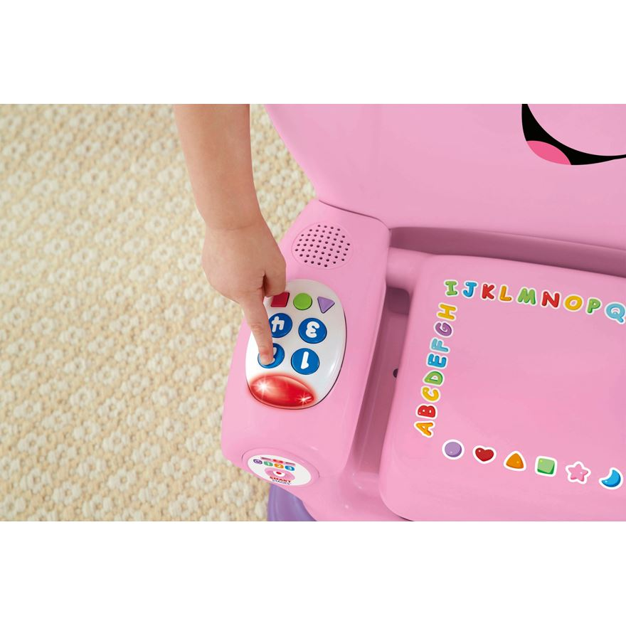Fisher price laugh amp learn smart stage chair pink fisher price uk
