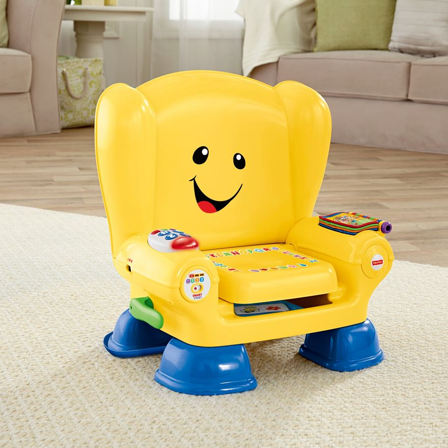 Fisher price laugh amp learn smart stages chair yellow fisher price uk