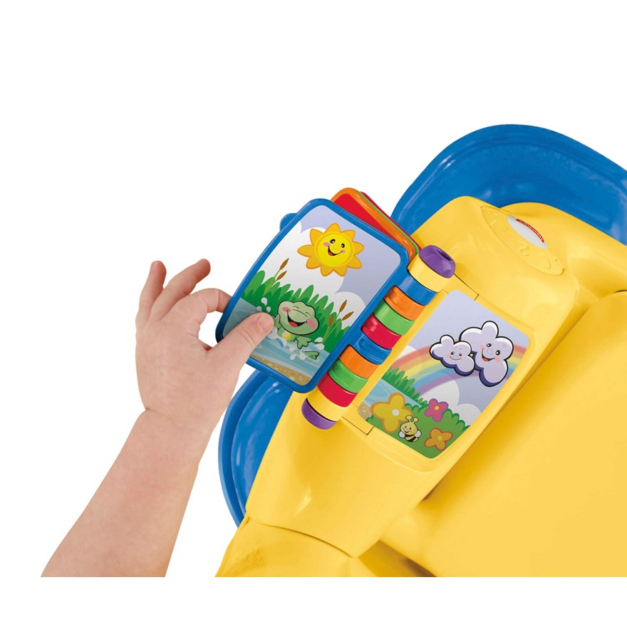 Fisher price laugh amp learn smart stages chair yellow fisher price