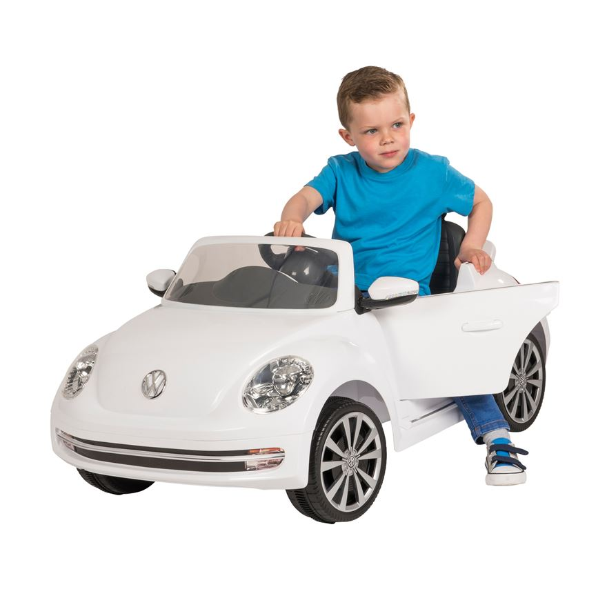 Volkswagen Beetle 6V Ride On with Remote Control image-0