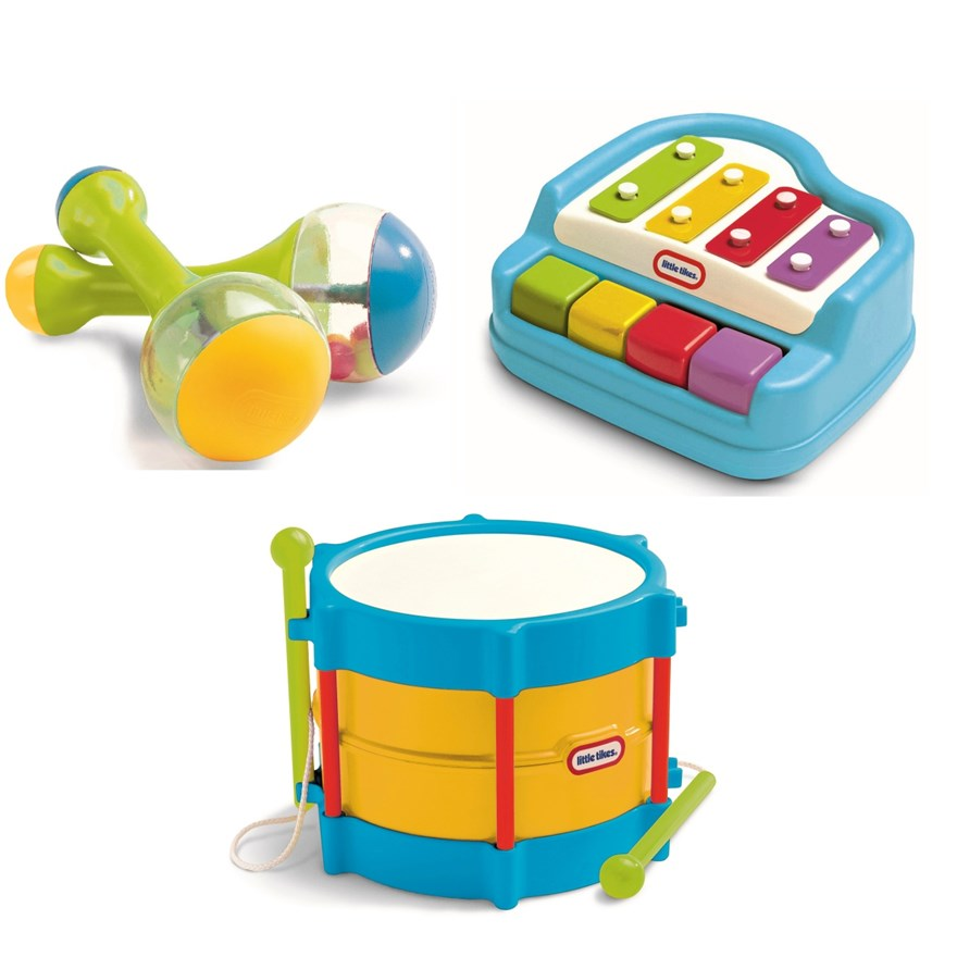 Little Tikes Melody Maker Musical Gift Set