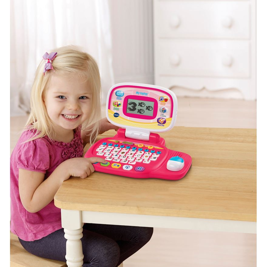 VTech My Laptop Pink image-0