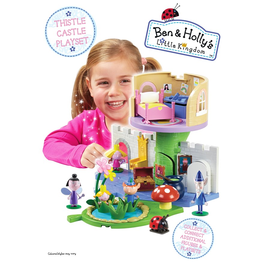 Ben & Holly Thistle Castle Playset image-0