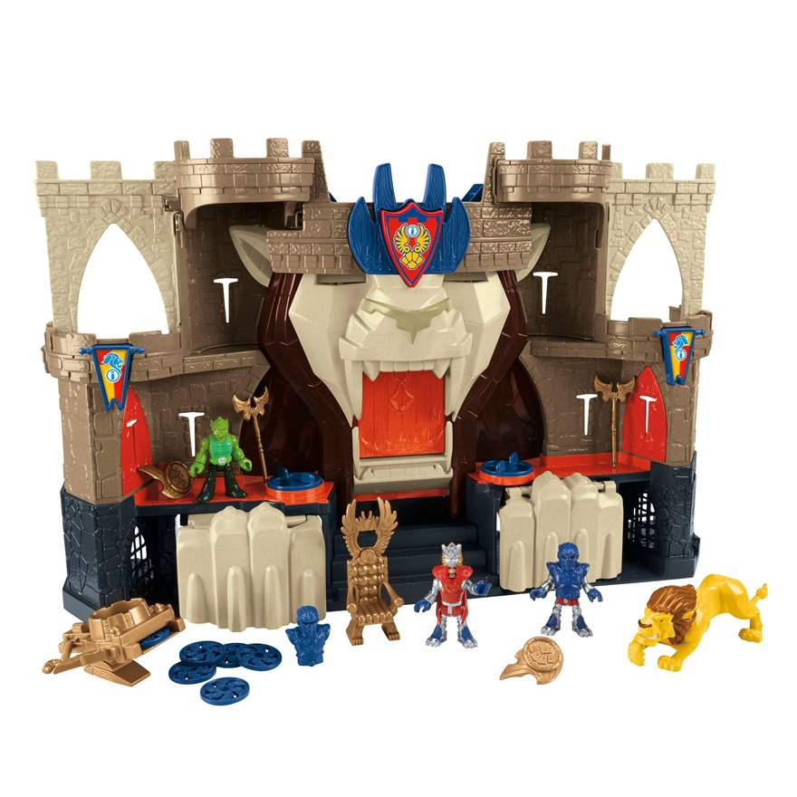 Fisher Price Imaginext Lions Den Castle image-0