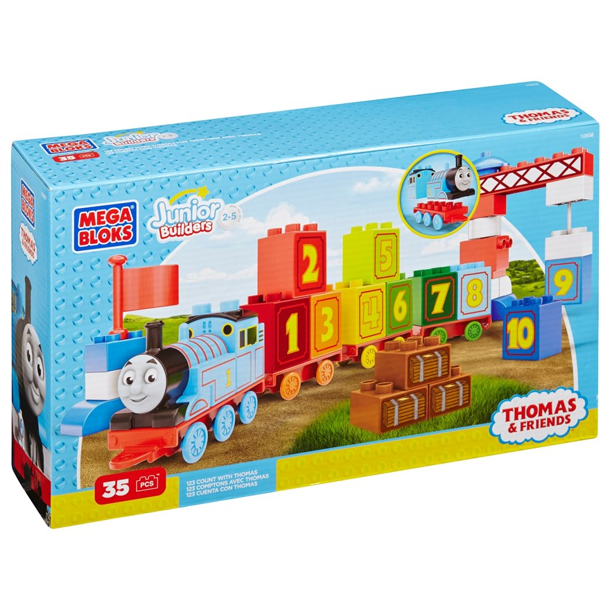Mega Bloks Thomas & Friends 123 Learning Train image-0