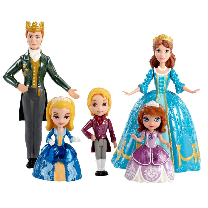 Disney Sofia The First Royal Family Figure Pack image-0