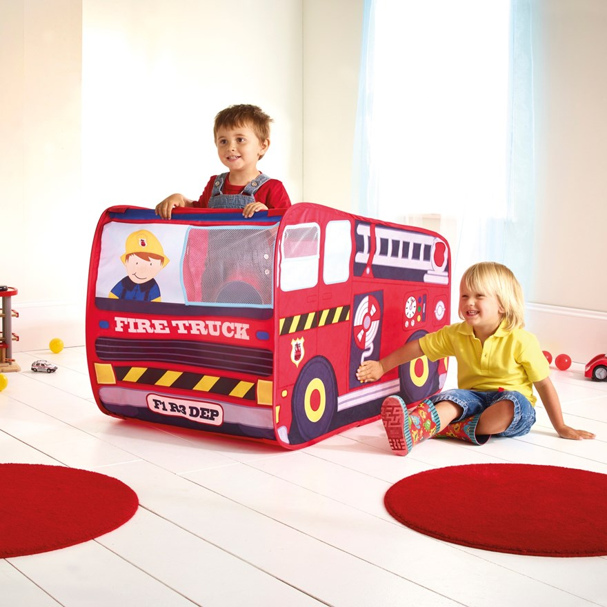 Fire Engine Role Play Tent image-0
