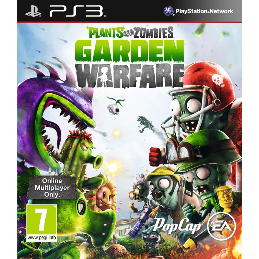 Plants vs Zombies - Garden Warfare PS3