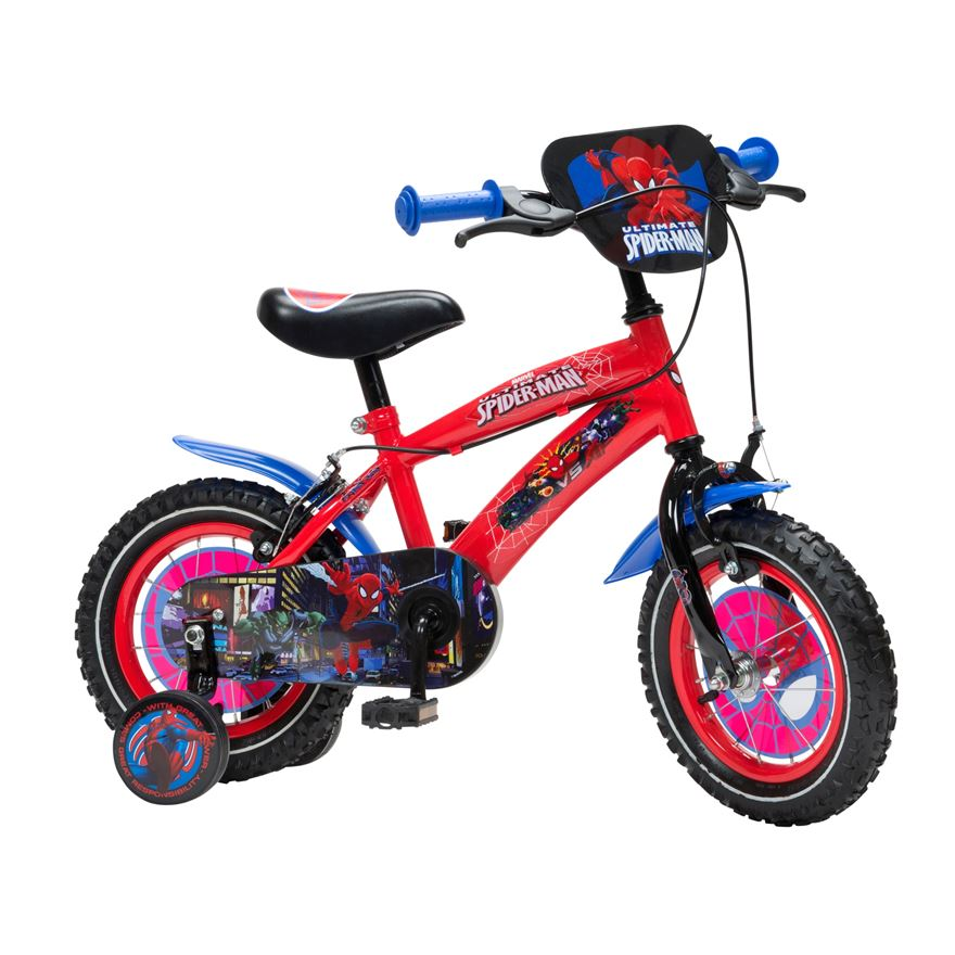 12 Inch Spider-Man Bike