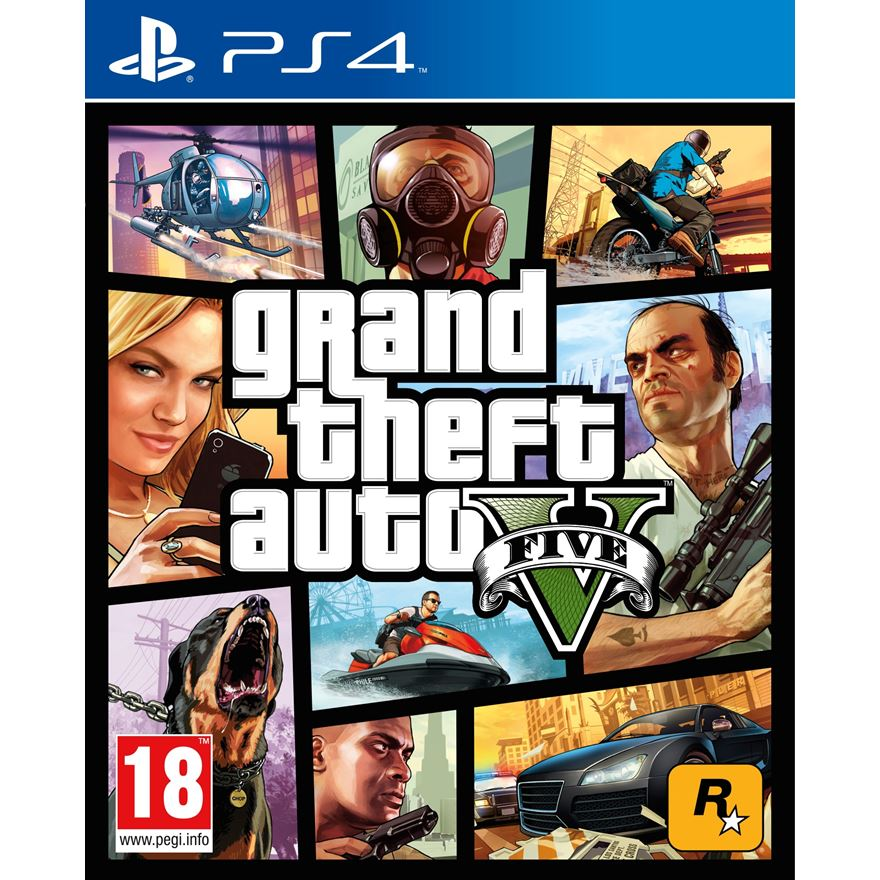 Grand Theft Auto V PS4 image-0