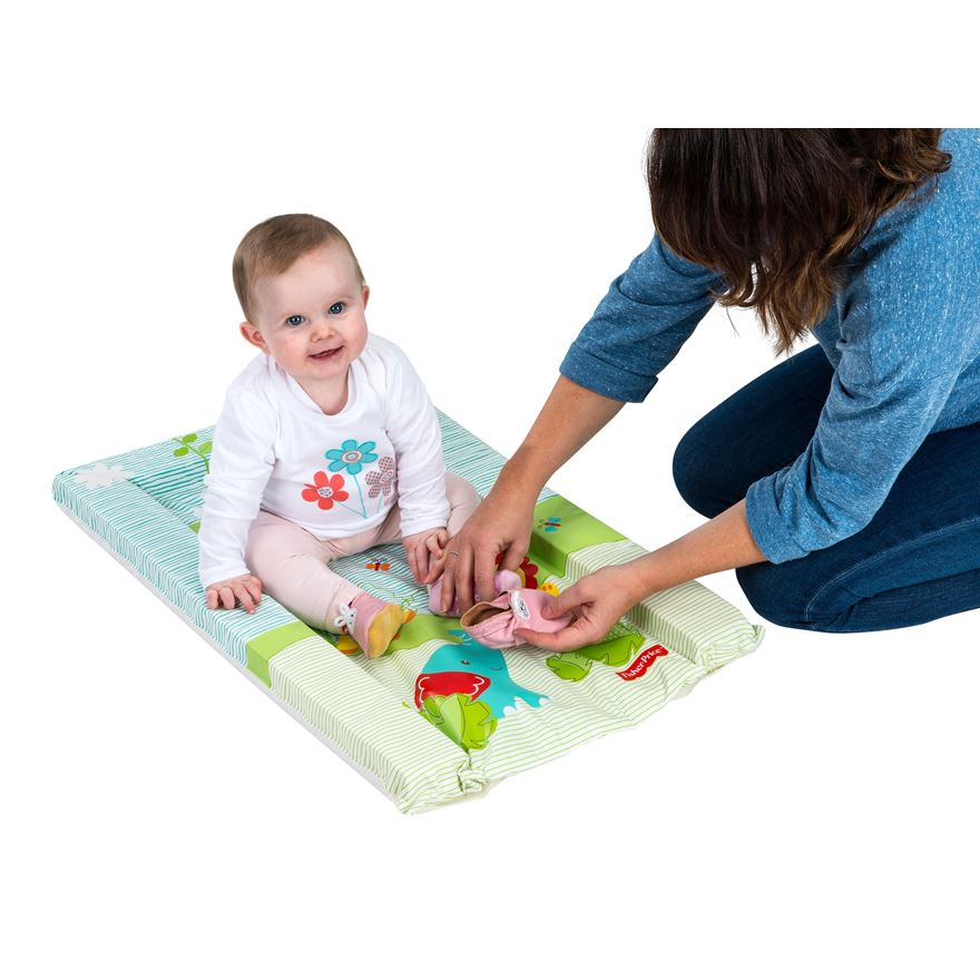 Fisher-Price Rainforest Friends Changing Mat image-0