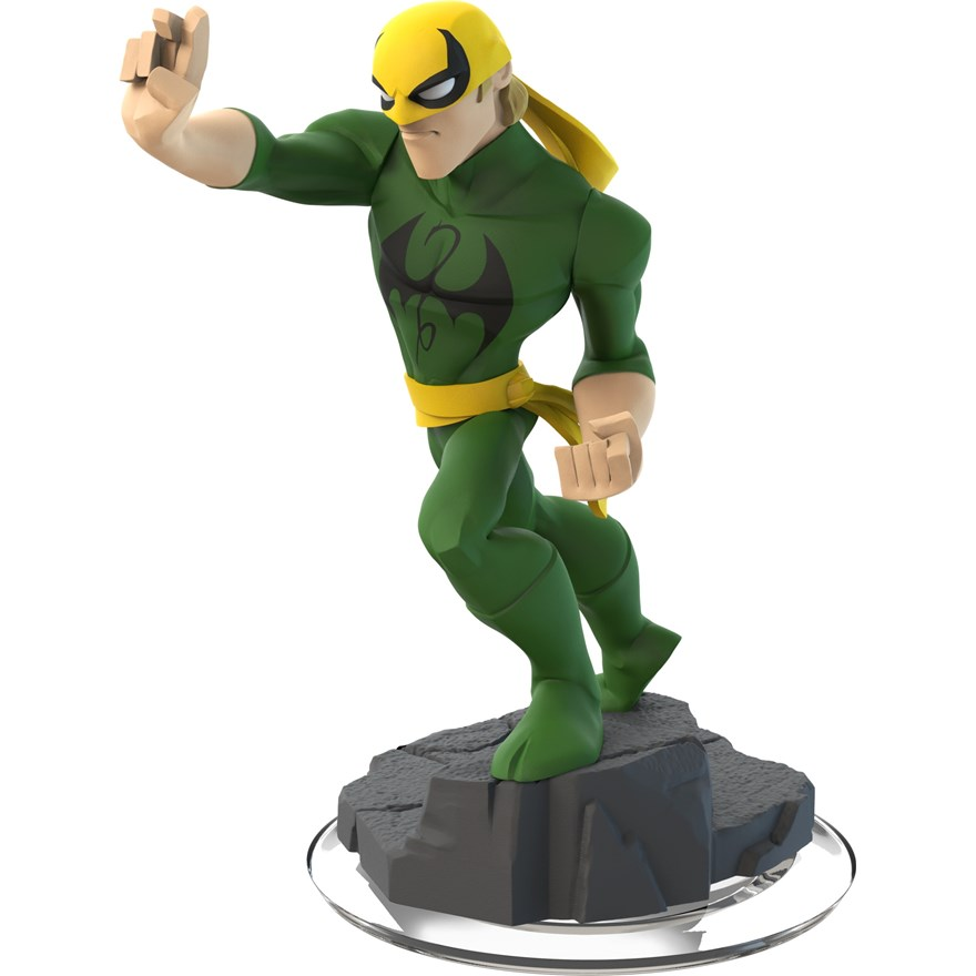 Disney Infinity 2.0 Iron Fist Figure image-0