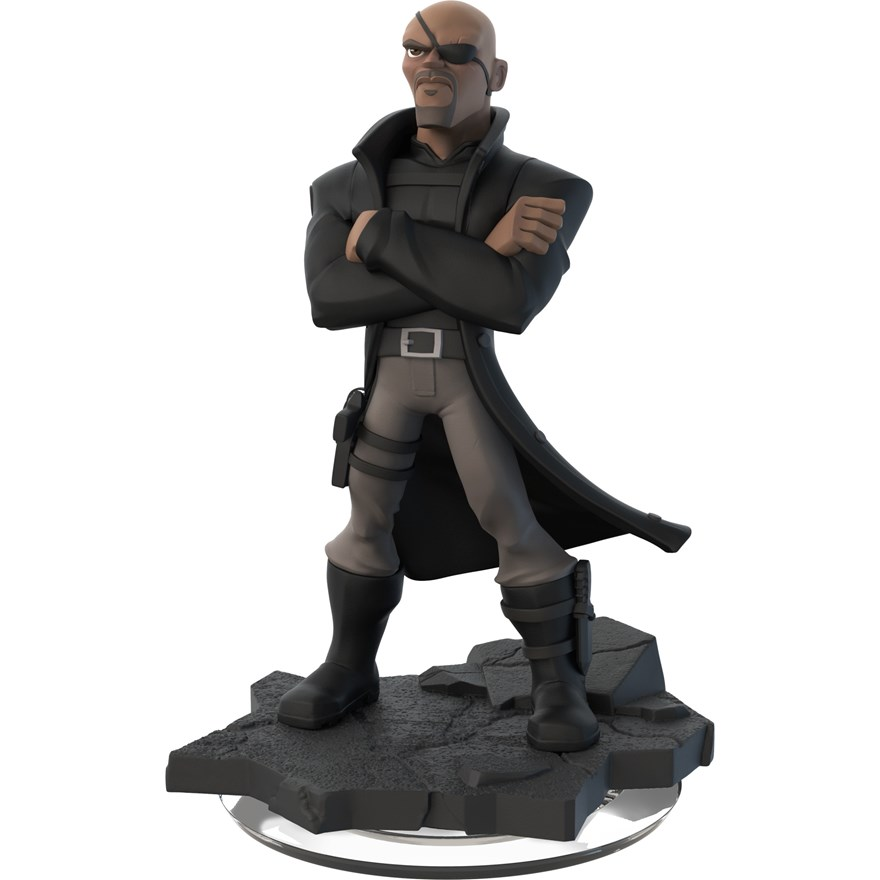 Disney Infinity 2.0 Nick Fury Figure image-0