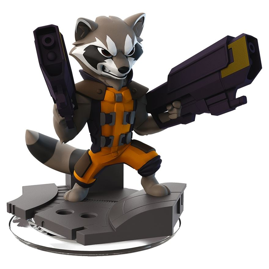 Disney Infinity 2.0 Rocket Raccoon Figure image-0