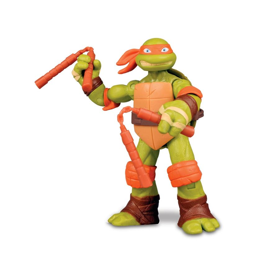 Teenage Mutant Ninja Turtles Action Figure Michelangelo image-0