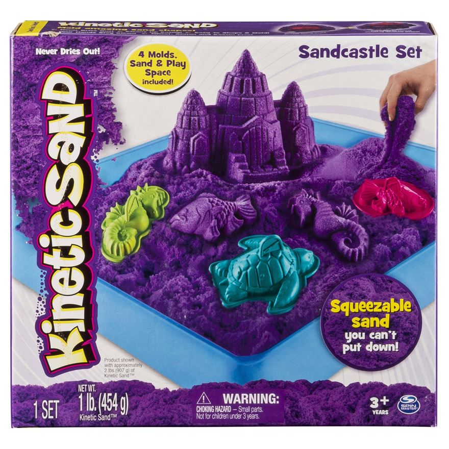 Kinetic Sand Box Kit image-0