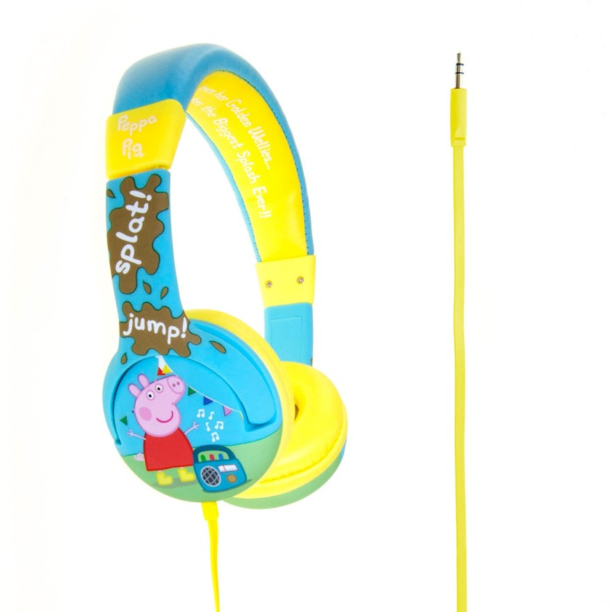 Peppa Pig Muddy Puddles Headphones