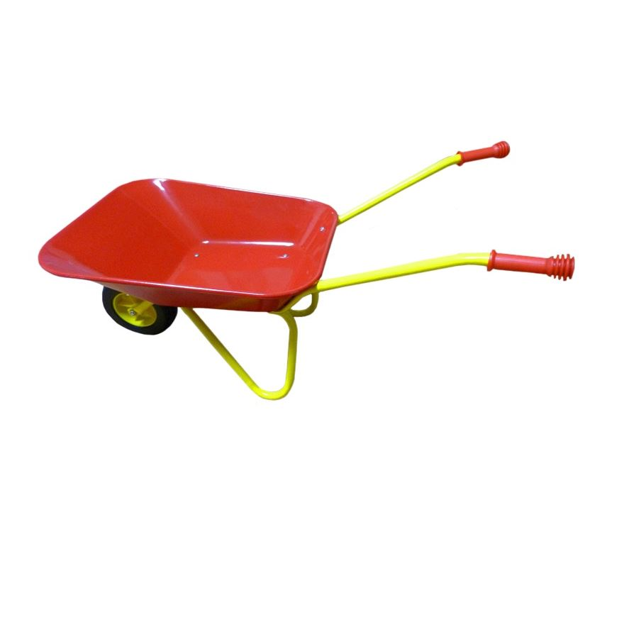 Metal Wheelbarrow image-0