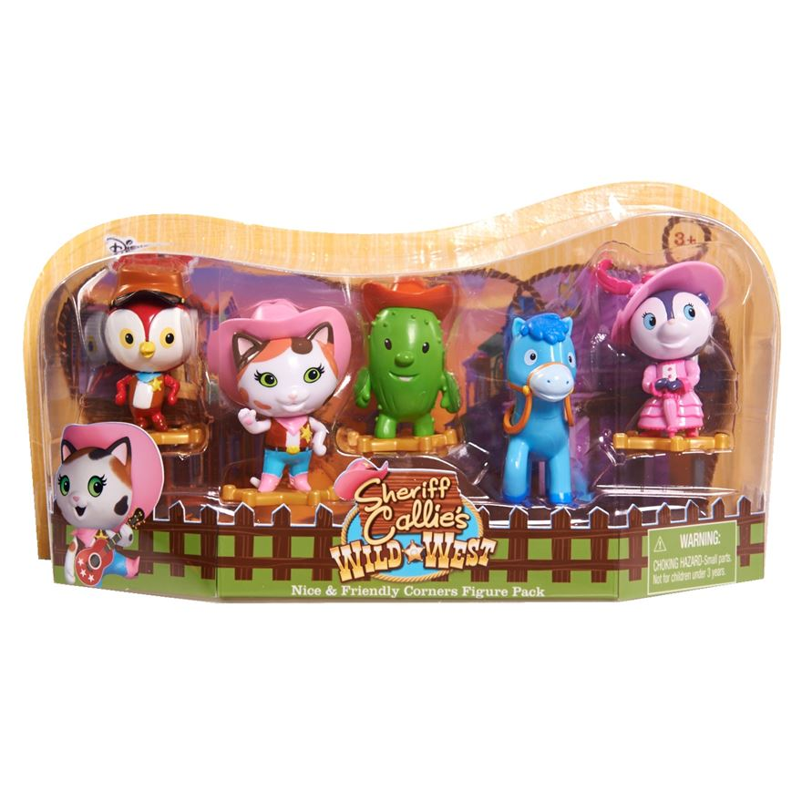 Sheriff Callie's Wild West 5 Figure Pack image-0